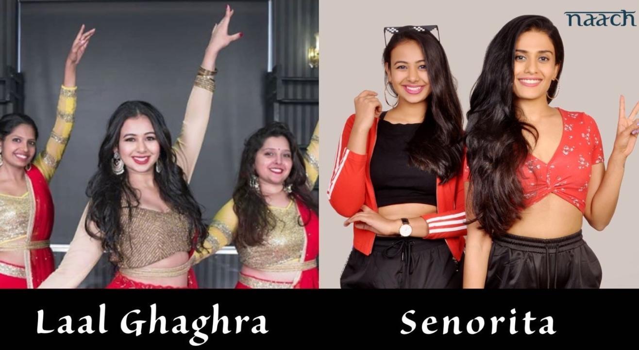 Team Naach : Combo Offer (Laal Ghaghra & Senorita)