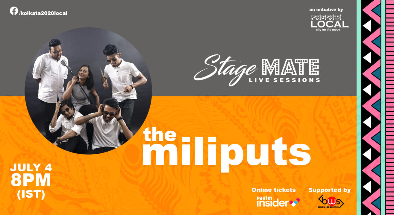 Stage Mate Live sessions with The Miliputs