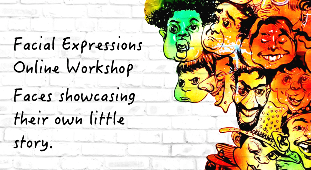 Facial Expressions Online Workshop with BAFA