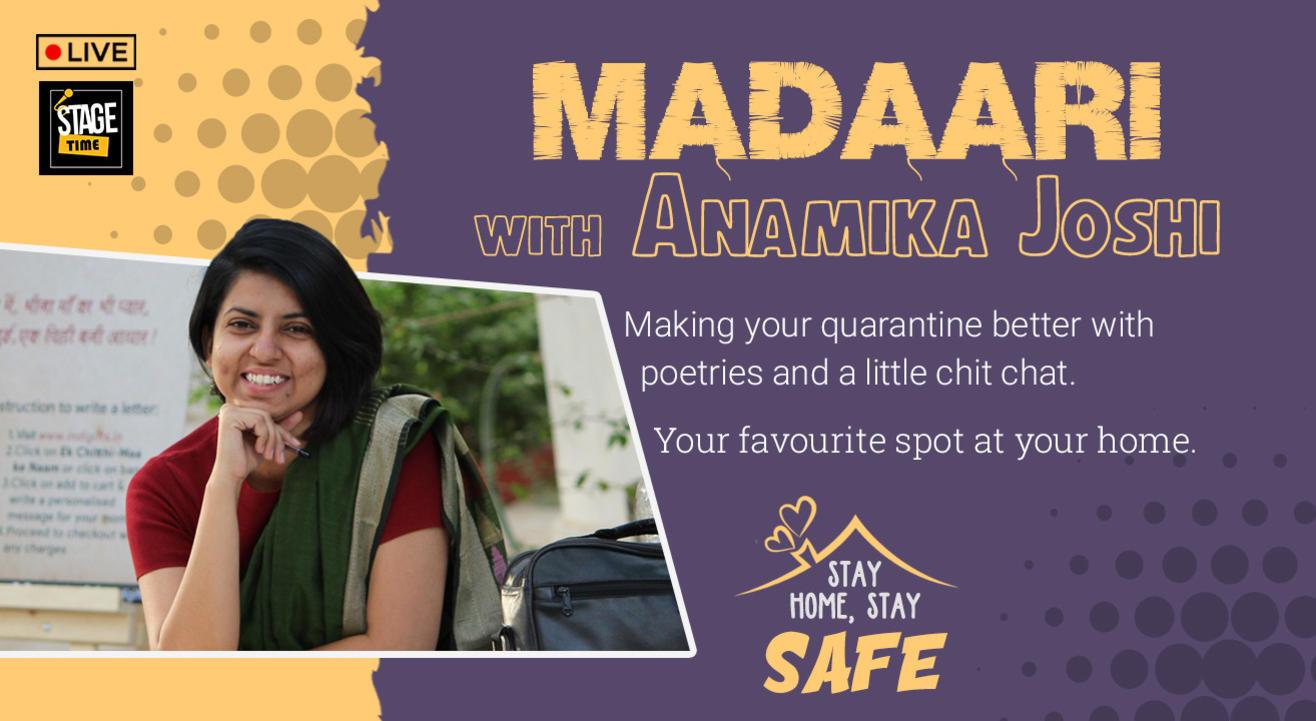 Madaari with Anamika Joshi