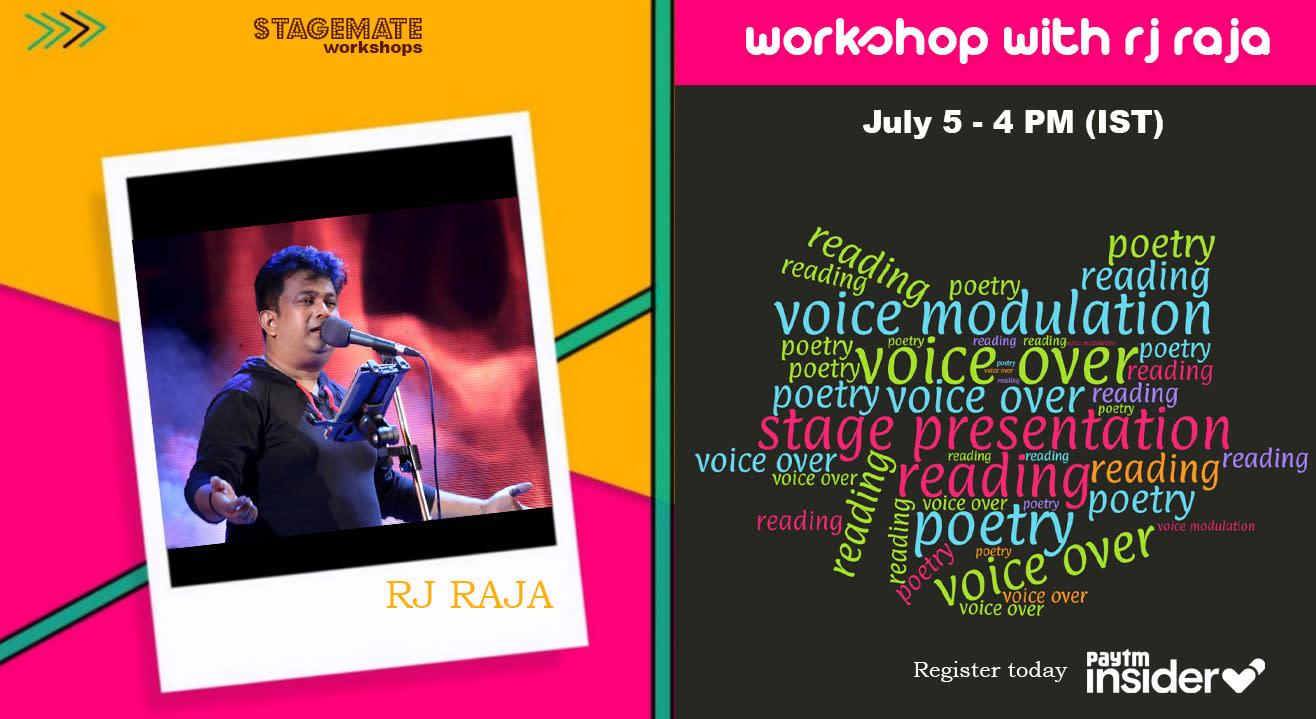 Stagemate Live : Workshop with Raja