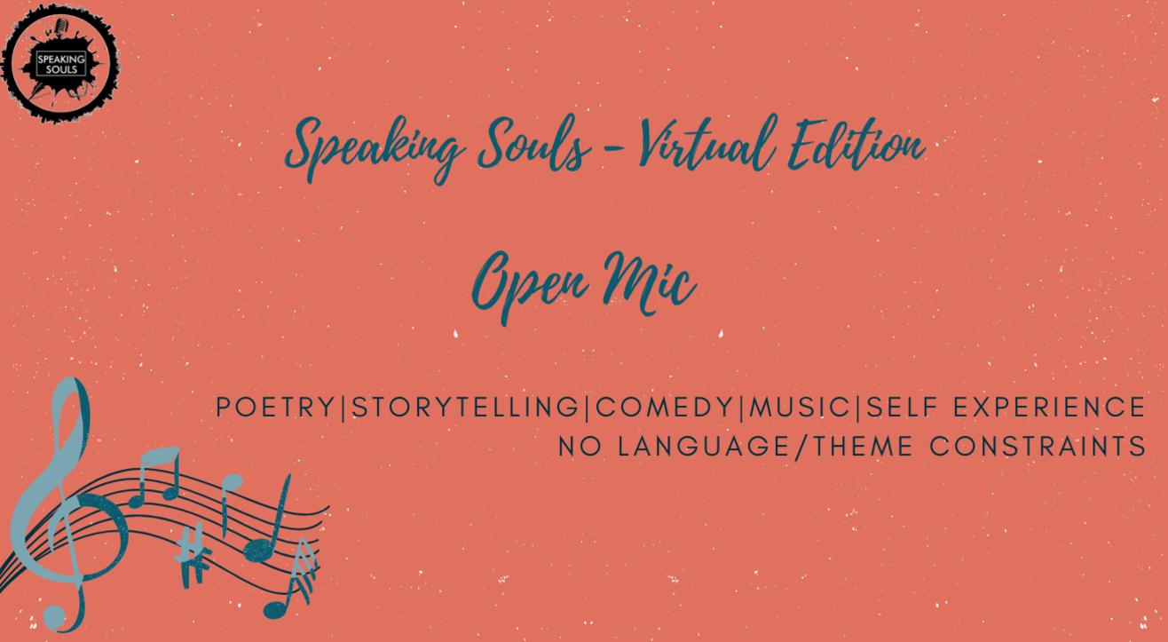 Speaking Souls : Open Mic