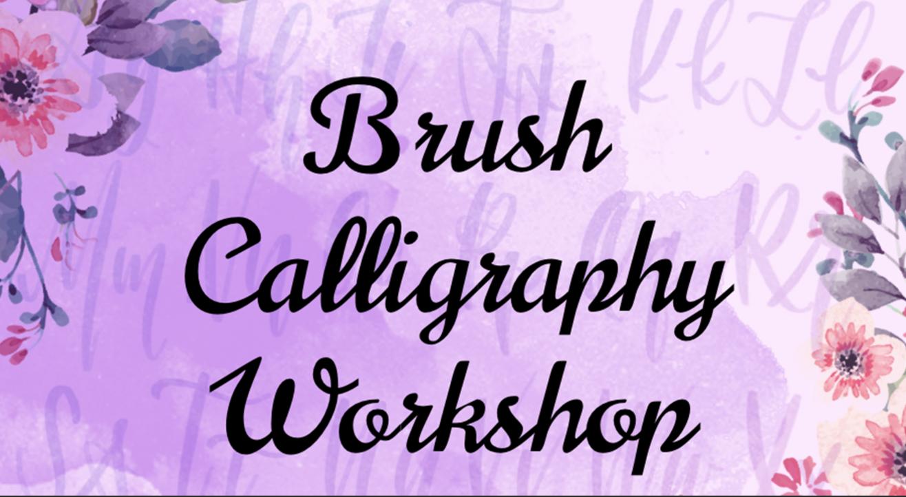 Brush Calligraphy Online Workshop with BAFA
