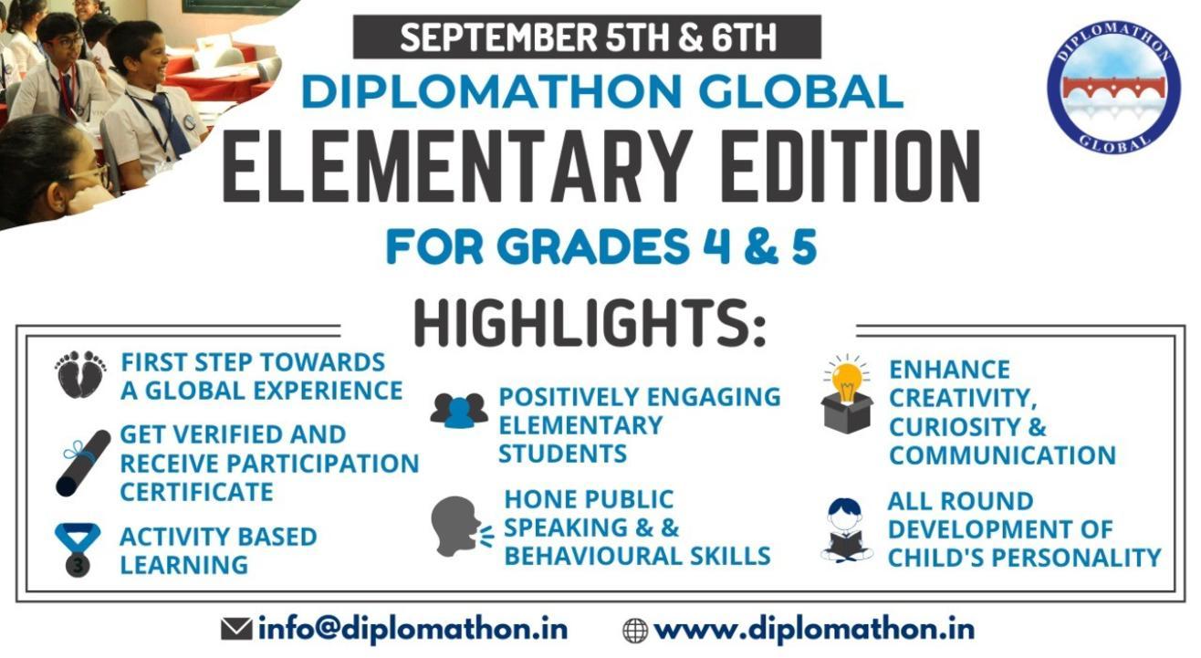 Diplomathon Global Elementary Edition