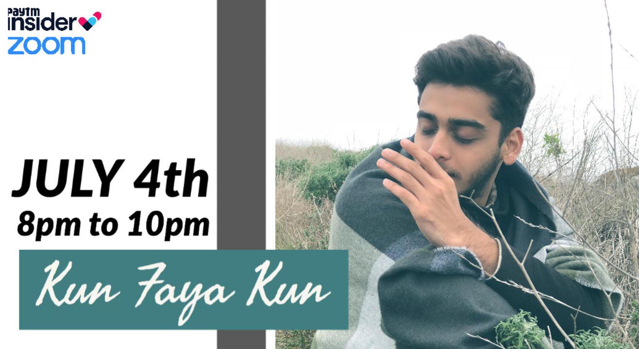 Learn Kun Faya Kun  with Jainil Mehta