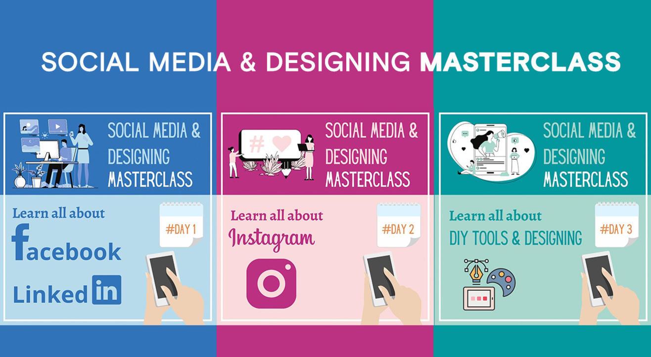 3 Days Online Social Media Marketing & Designing Masterclass