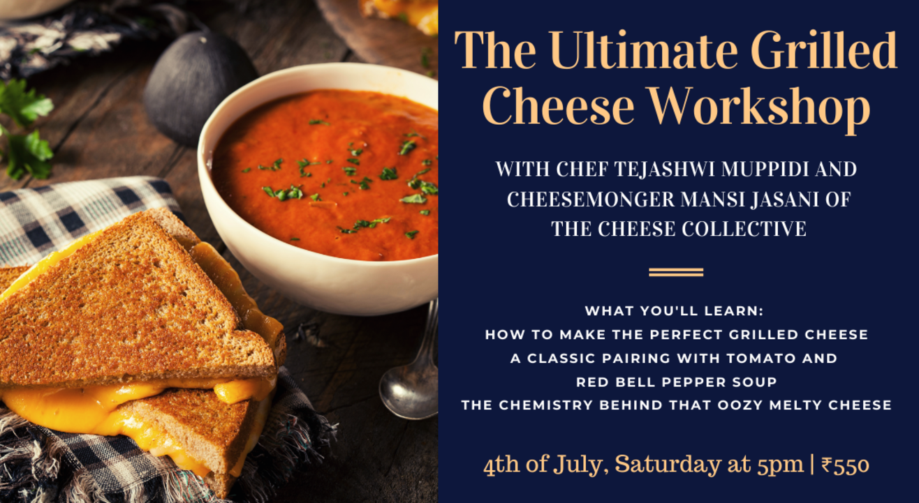 The Ultimate Grilled Cheese Workshop
