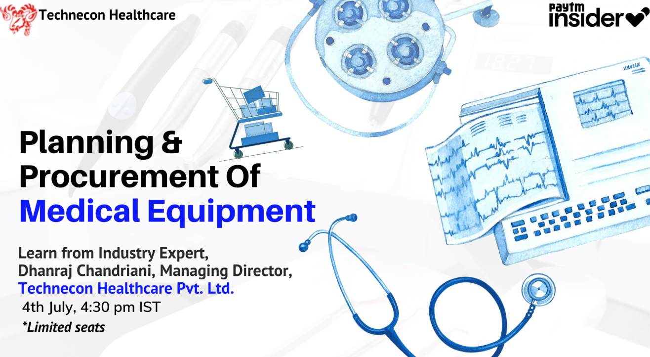 Planning & Procurement of Medical Equipment