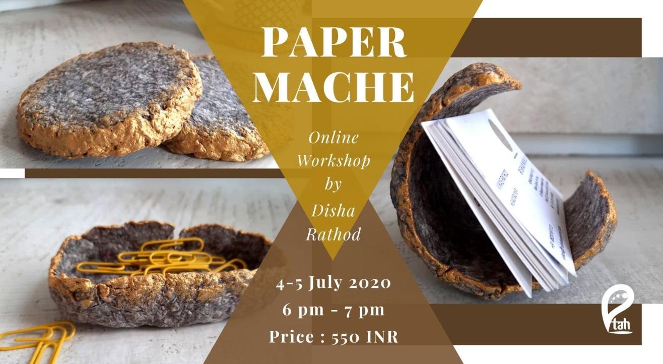 Paper Mache : Online Workshop