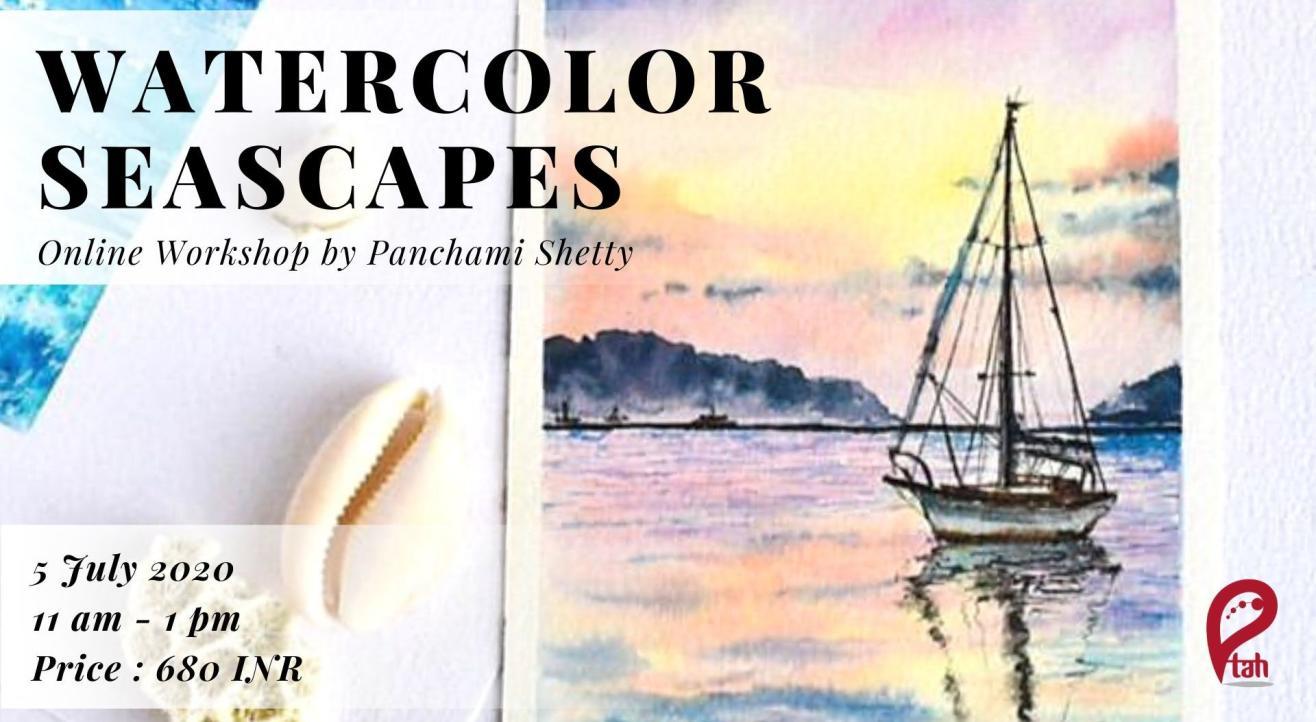 Watercolor Seascapes : Online Workshop