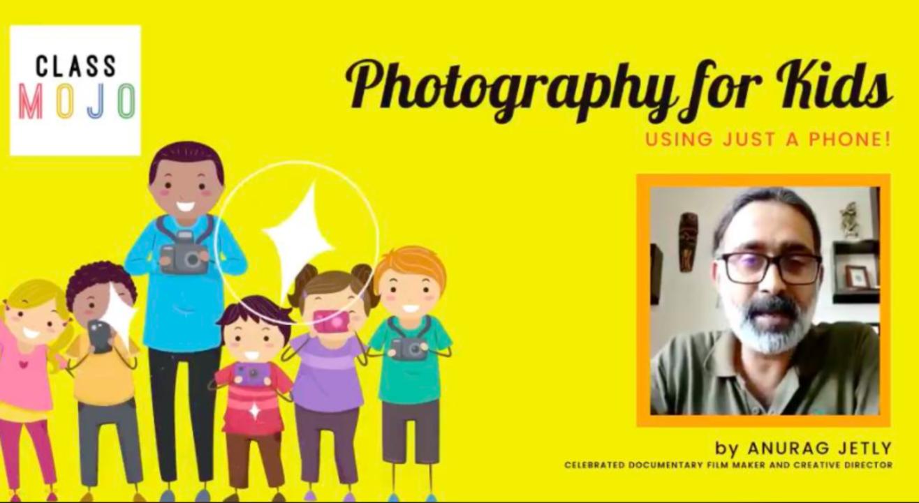 Photography for kids (July Batch)