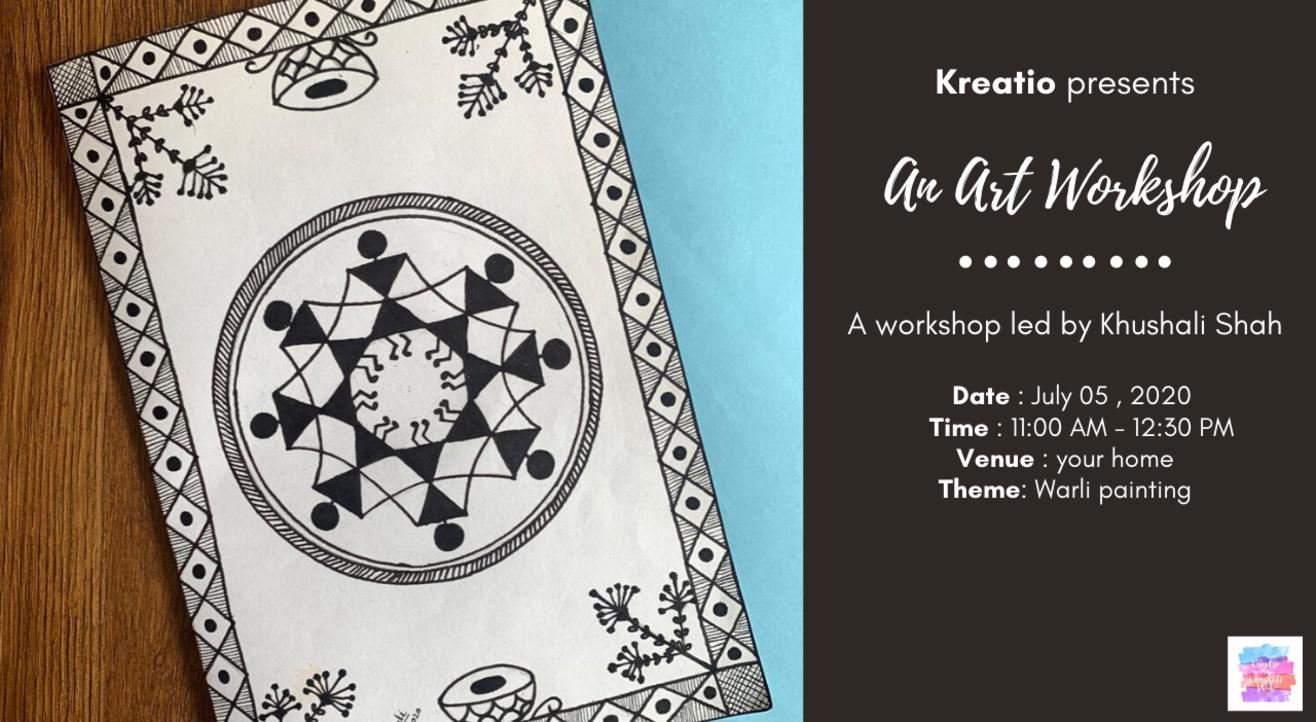 Art Workshop-Warli Painting