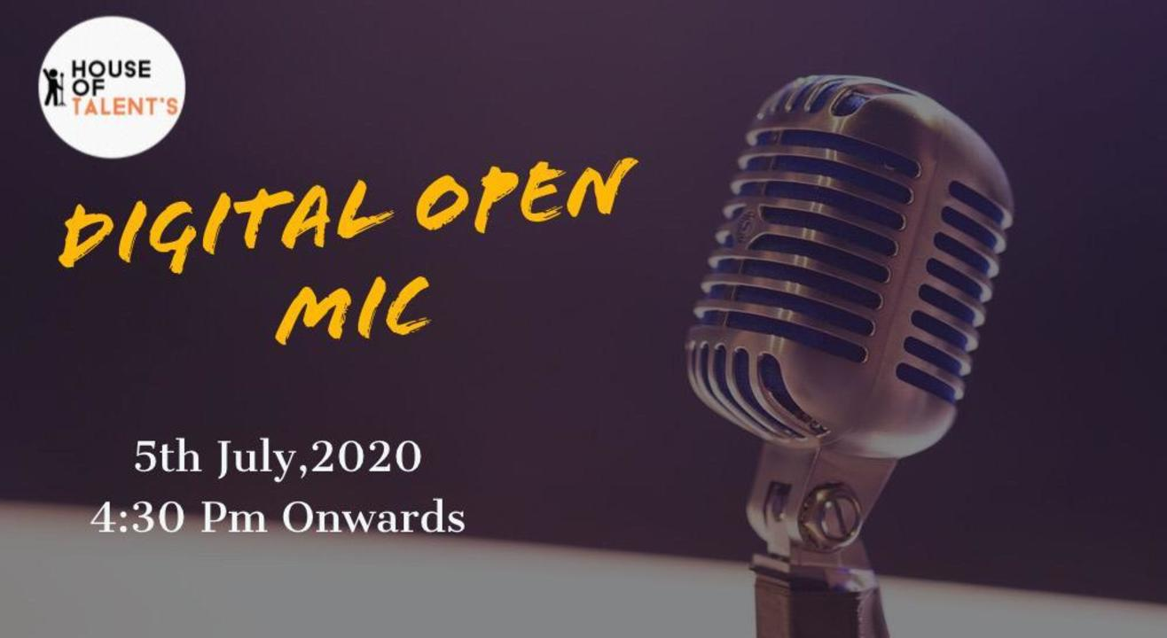 House Of Talent - Open Mic