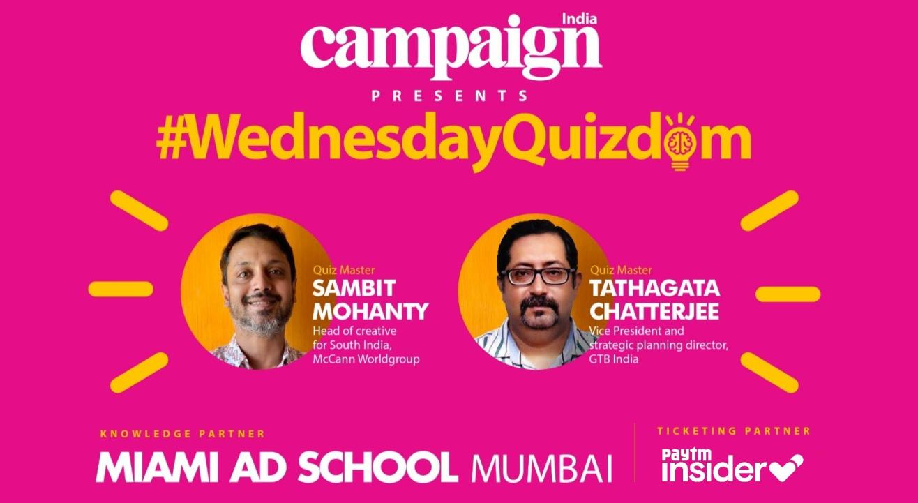 Campaign India's #WednesdayQuizdom - Week 1
