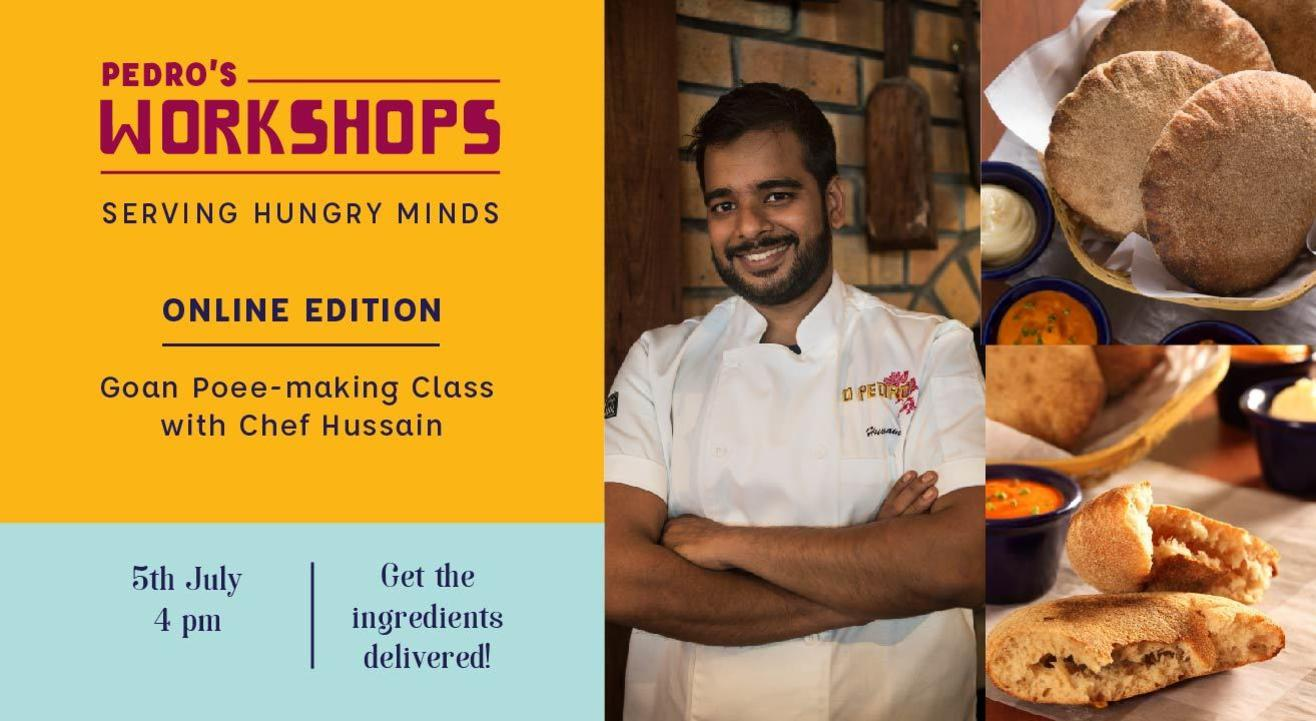 Pedro's Workshops - Goan Poee Making Class With Chef Hussain