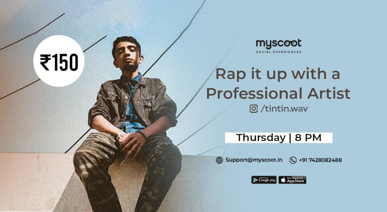 Rap it up with a Professional Artist