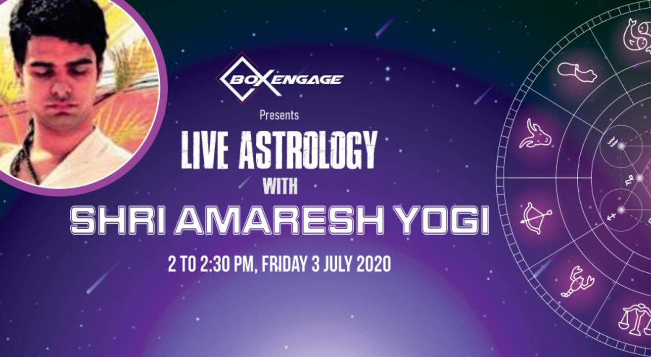 Live Astrology with Shri Amaresh Yogi