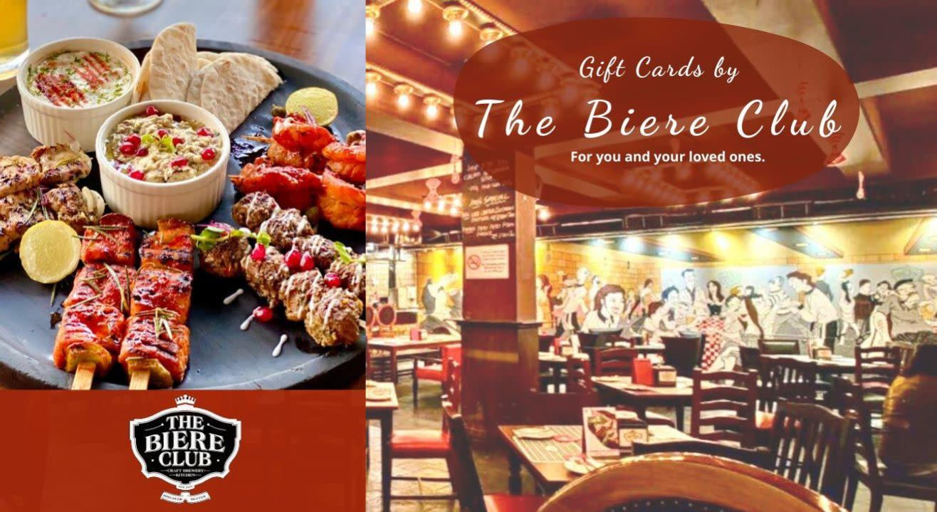 The Biere Club: Gift Cards