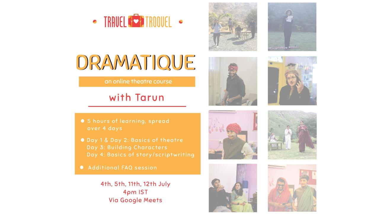 Get Dramatique w/ TravelTroovel