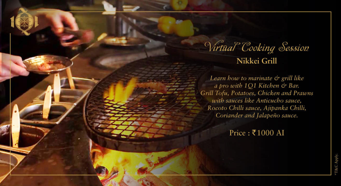 Virtual Cooking Session by 1Q1 Kitchen & Bar