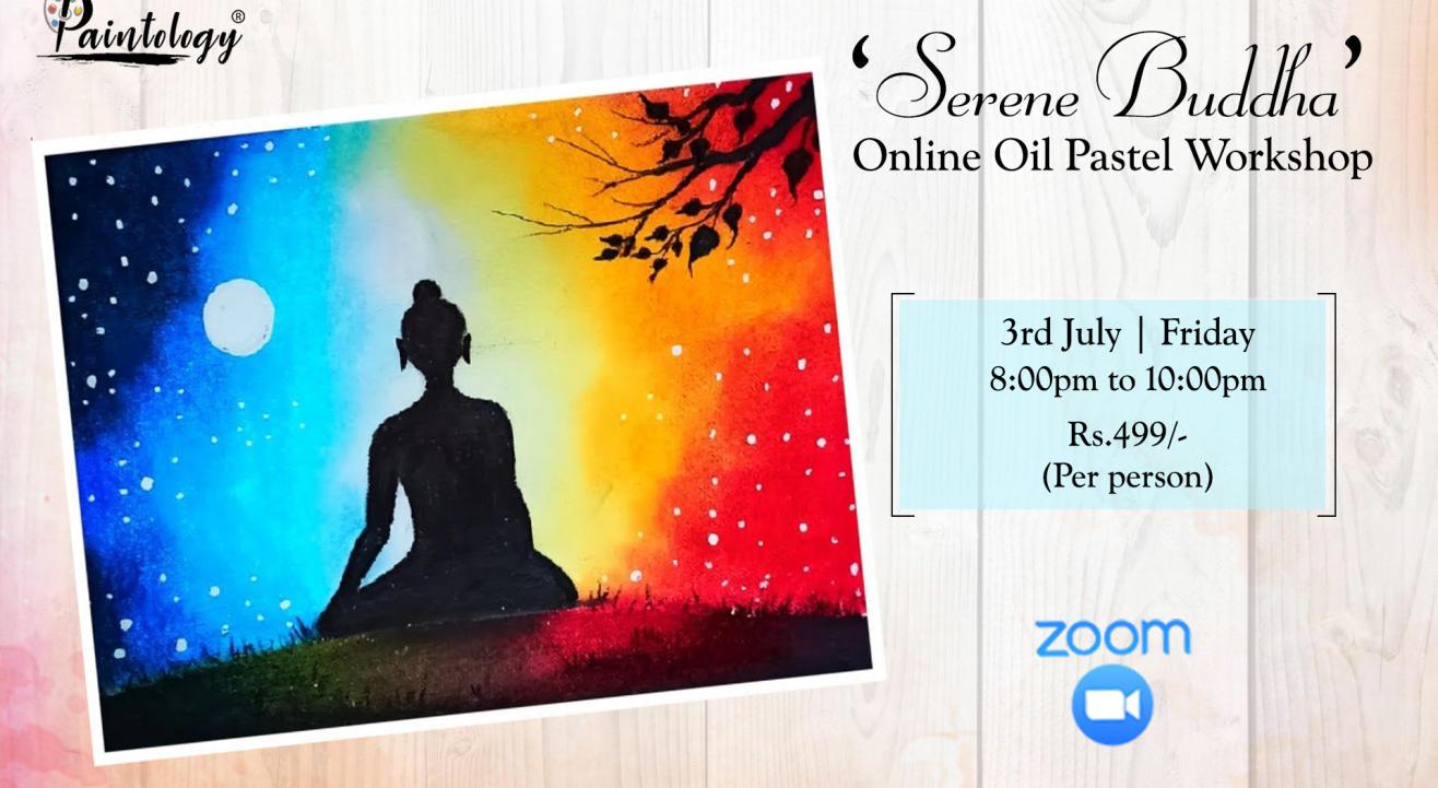 'Buddha' Oil pastel workshop
