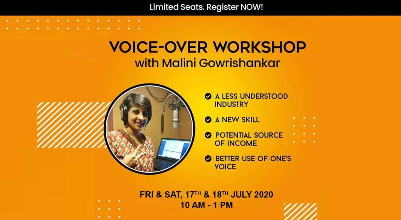 Voice-Over Workshop with Malini Gowrishankar