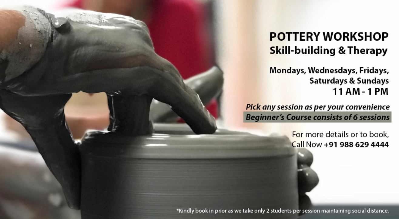 Pottery Workshop(s) for Skill-building and Therapy