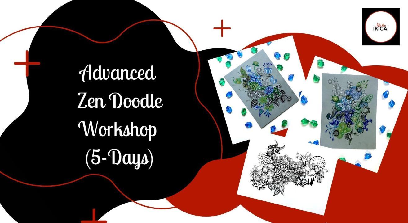 Online Advanced Zen Doodle Workshop