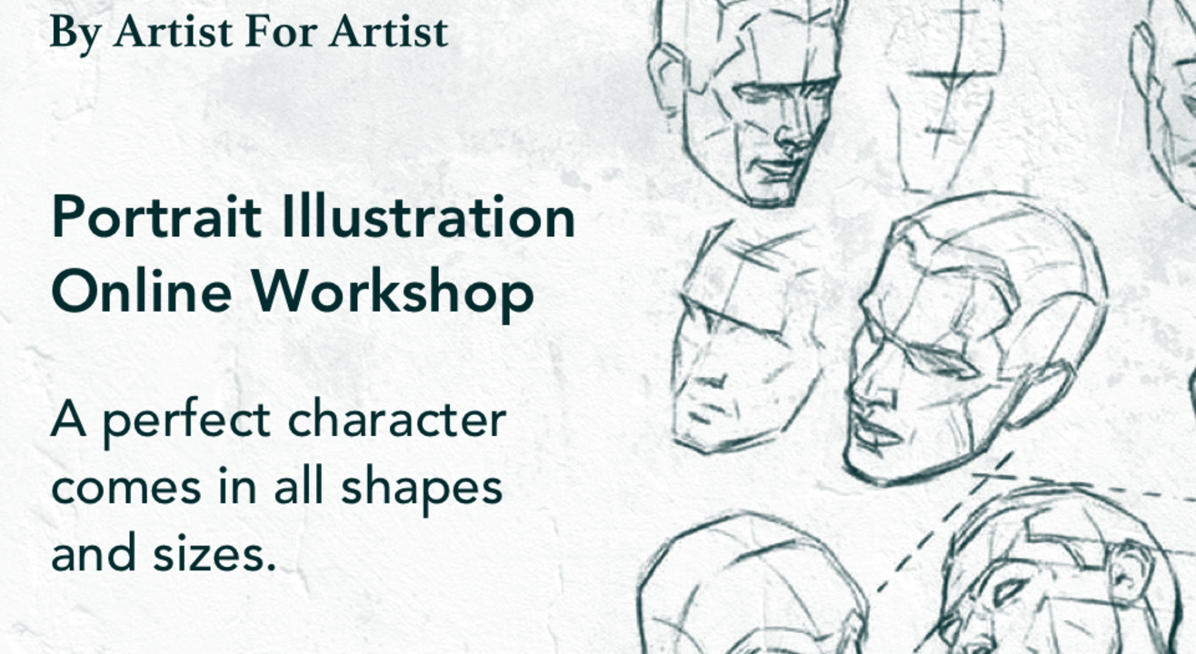 Portrait Illustration Workshop with BAFA