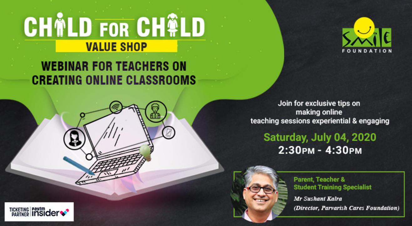 Webinar for Teachers on Creating Online Classrooms