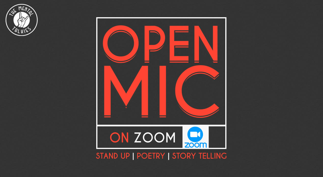 Open Mic-Stand Up Comic, Poetry, Storytelling