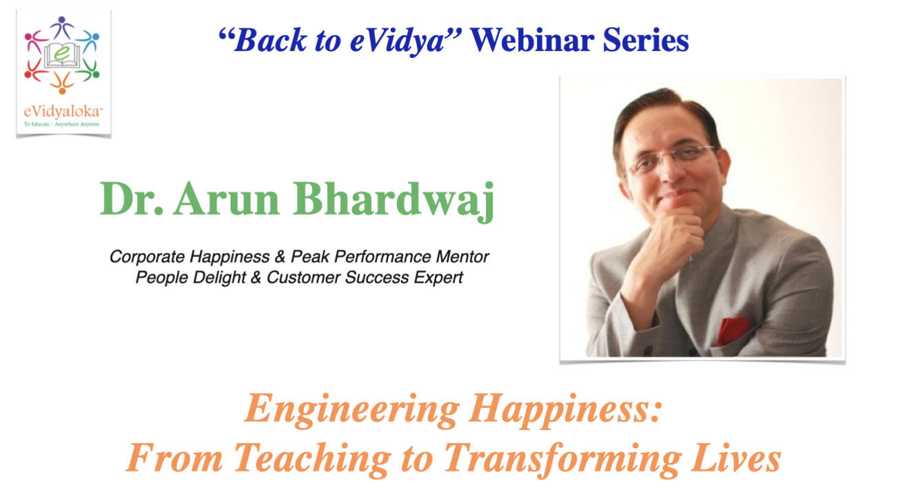 Engineering Happiness: From Teaching to Transforming lives