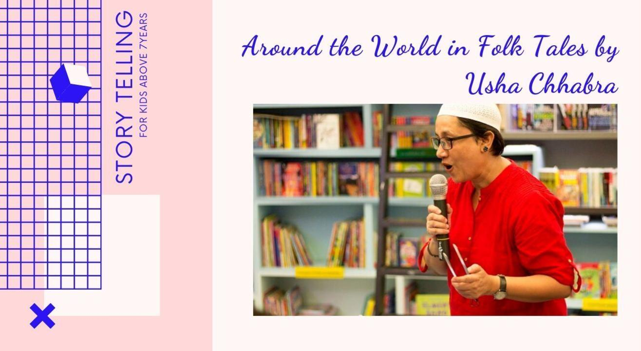 Around the World in Folk Tales by Usha Chhabra