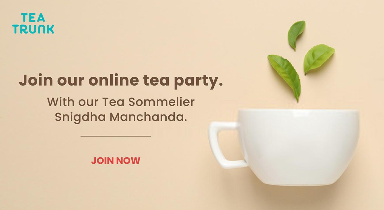 Guided Tea Tasting Online