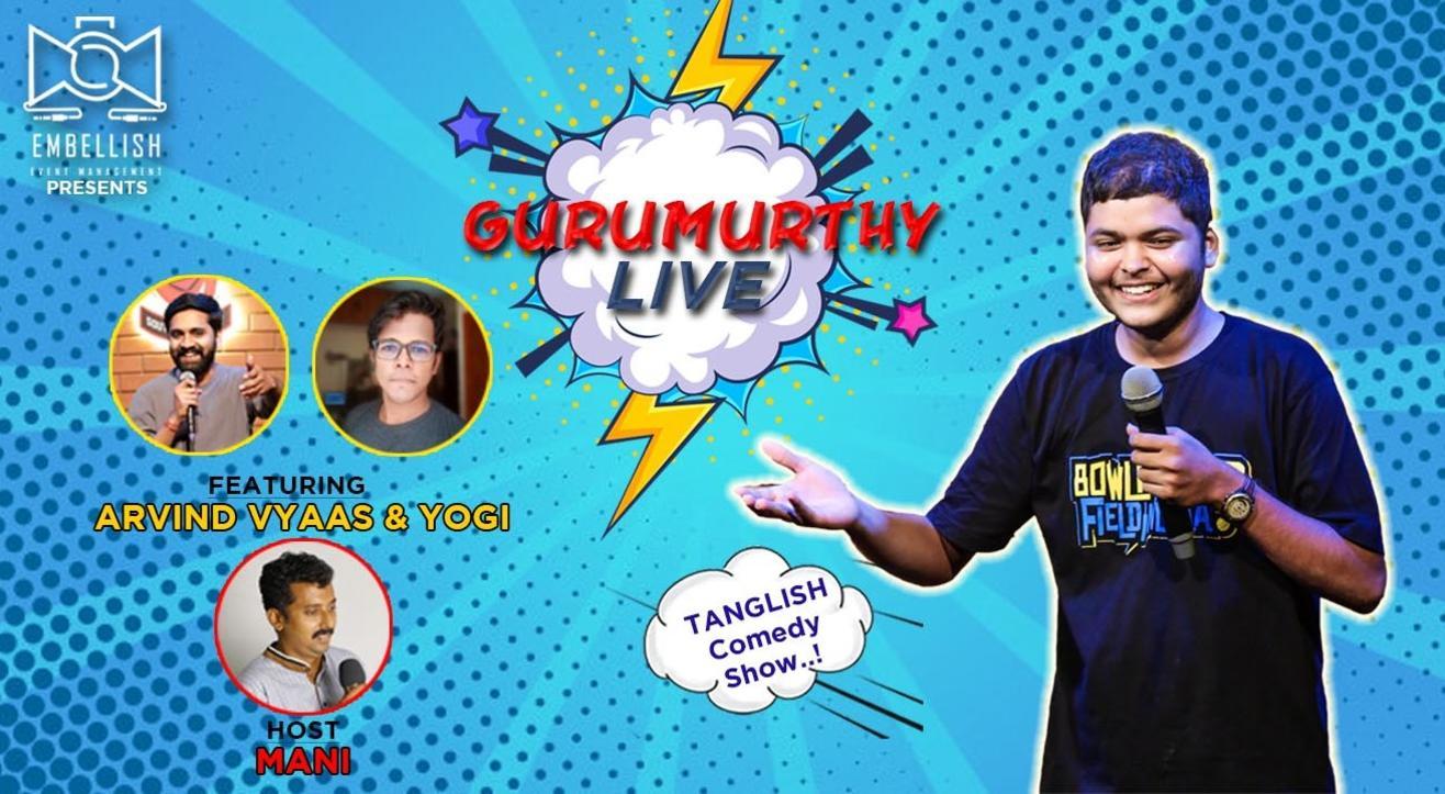 Gurumurthy live   Embellish event