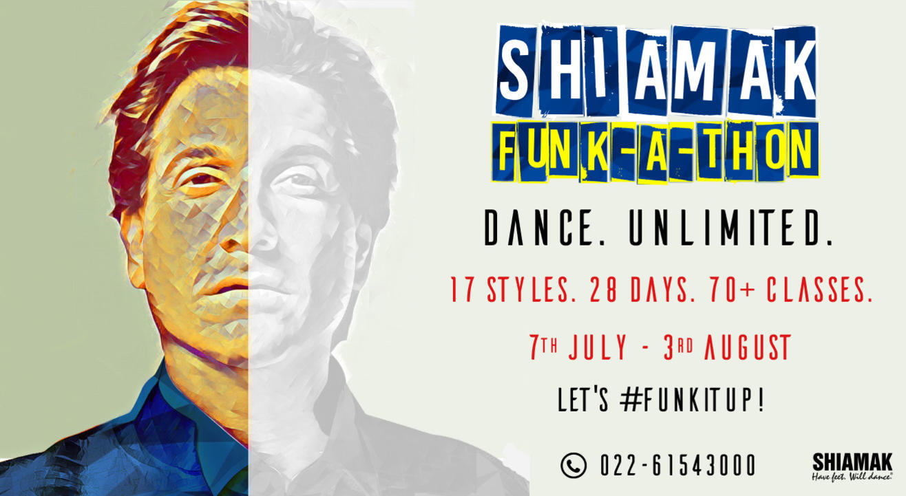 SHIAMAK Funk-A-Thon - Adults' Batch (12+ years) | Online Dance Classes