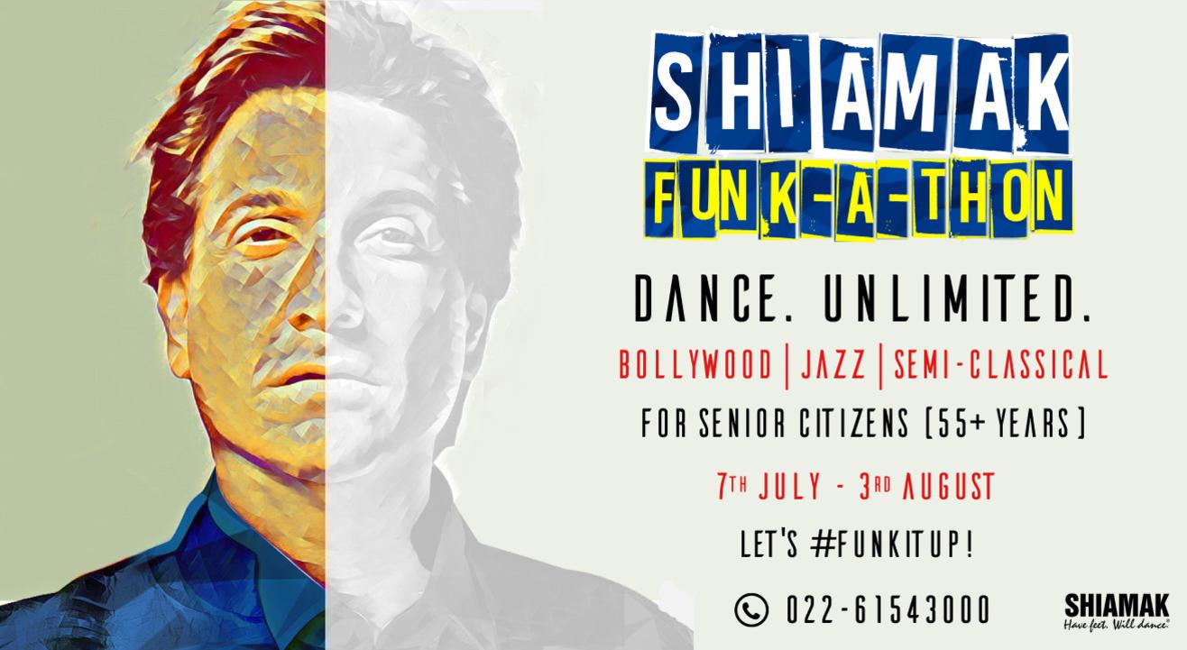 SHIAMAK Funk-A-Thon - Senior Citizen's Batch (55+ years) | Online Dance Classes