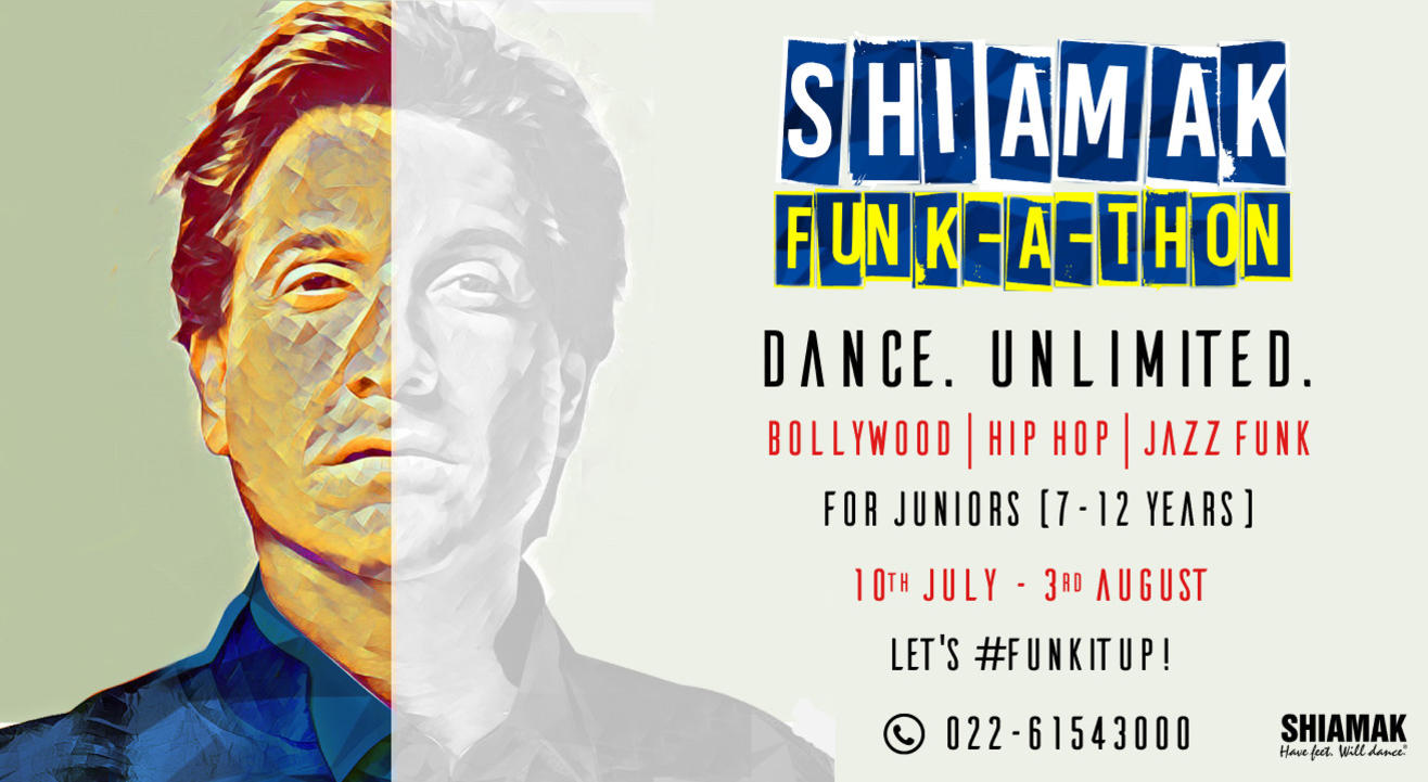 SHIAMAK Funk-A-Thon - Juniors' Batch (7 - 12 years) | Online Dance Classes