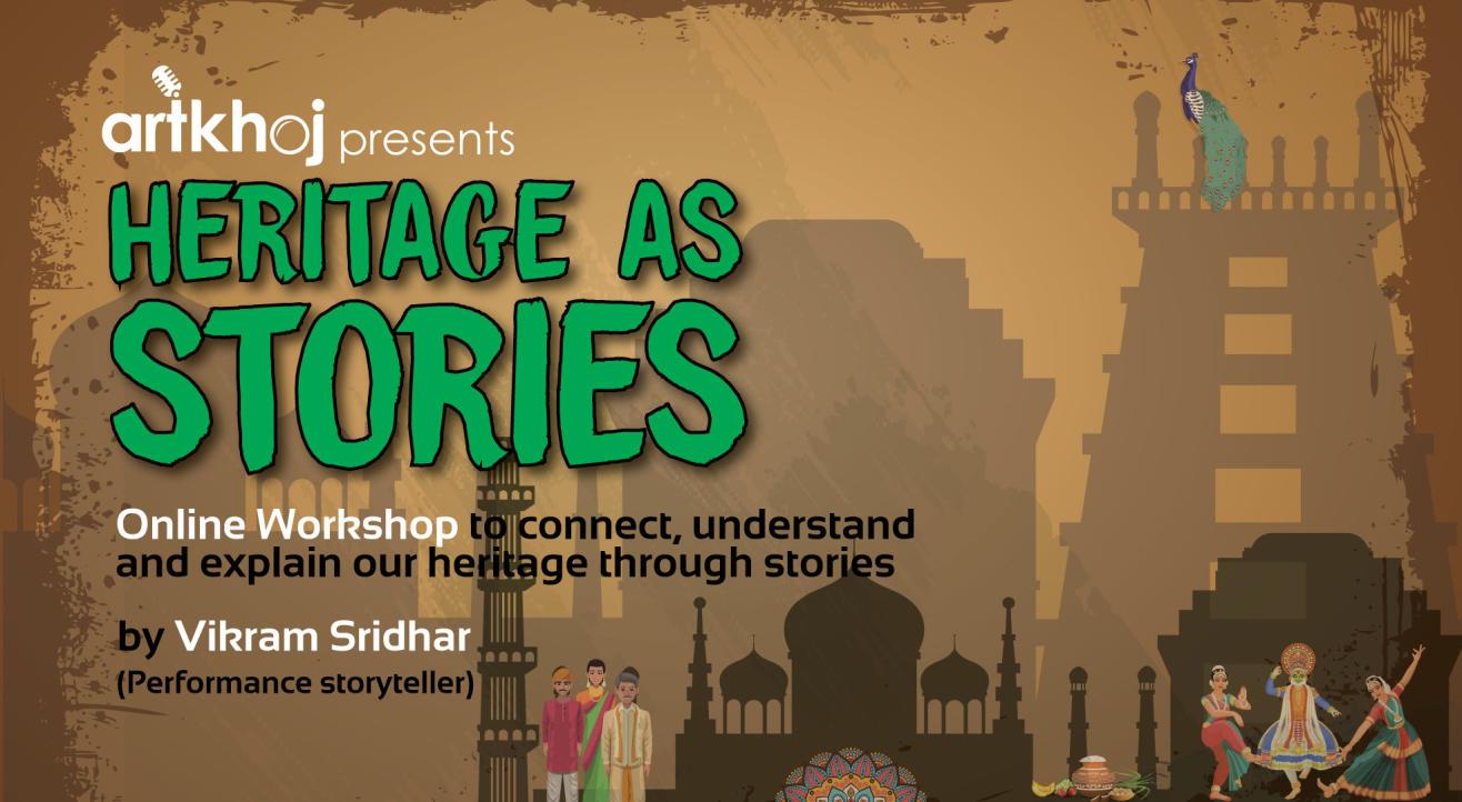 Heritage as Stories - Online Workshop