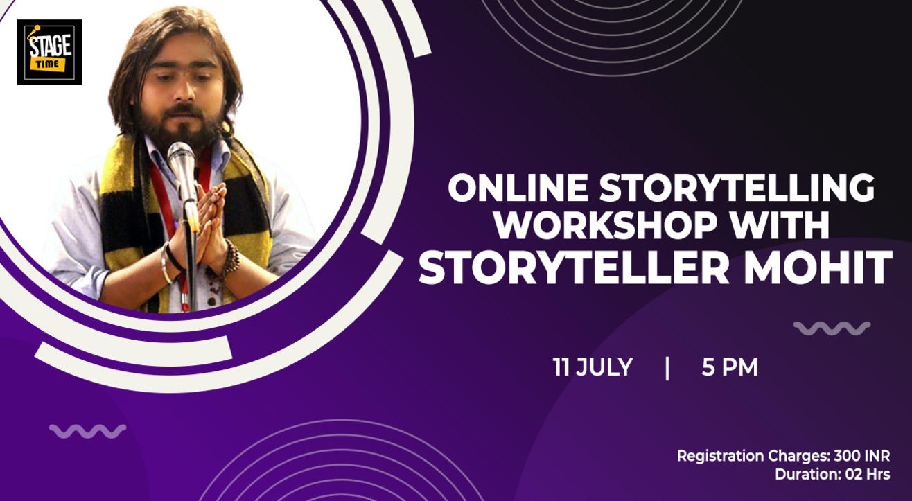 Online Storytelling Workshop with Storyteller Mohit
