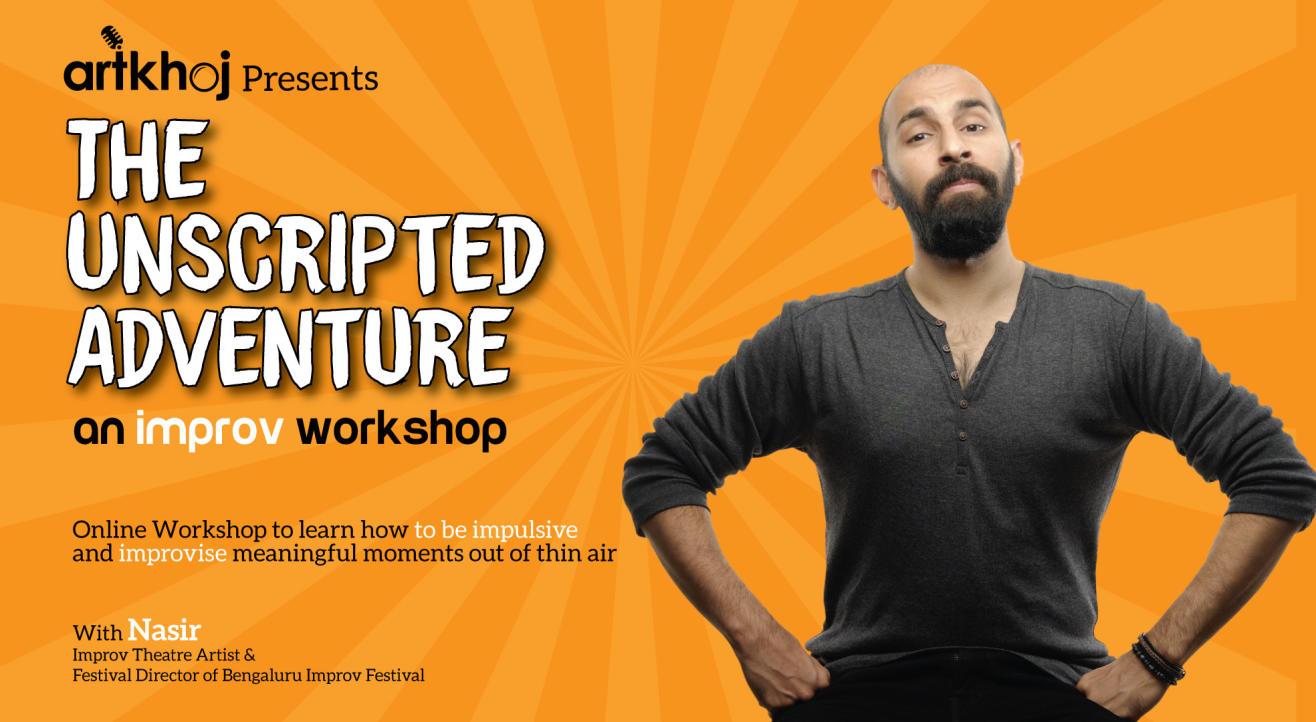 The Unscripted Adventure - Online Improv Workshop