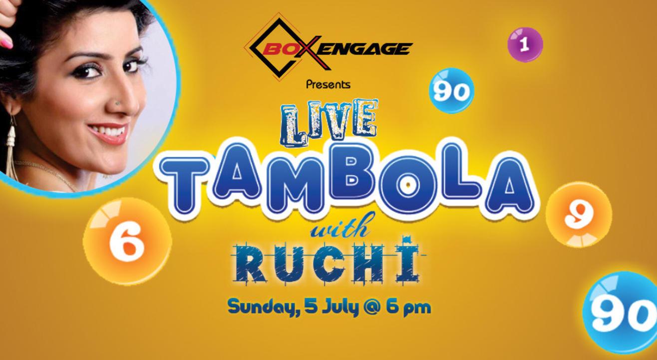 Live Tambola with Ruchi Sharma
