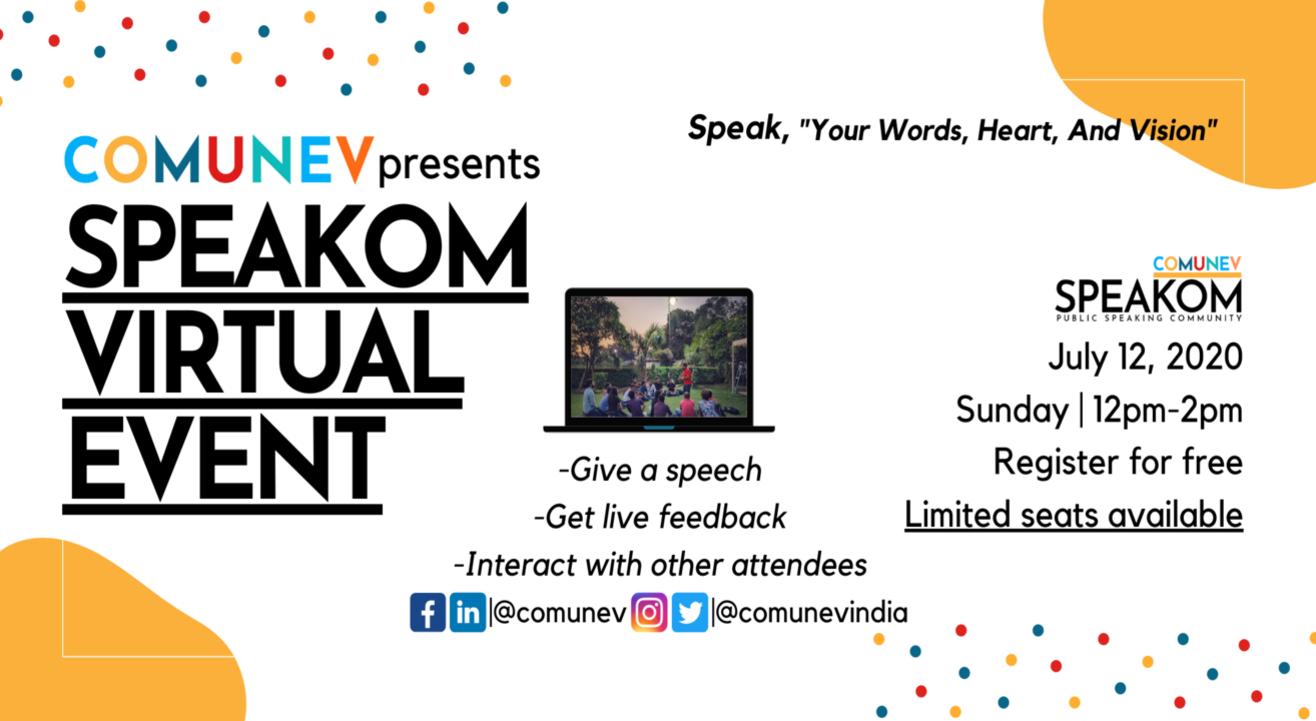 Speakom Virtual Event