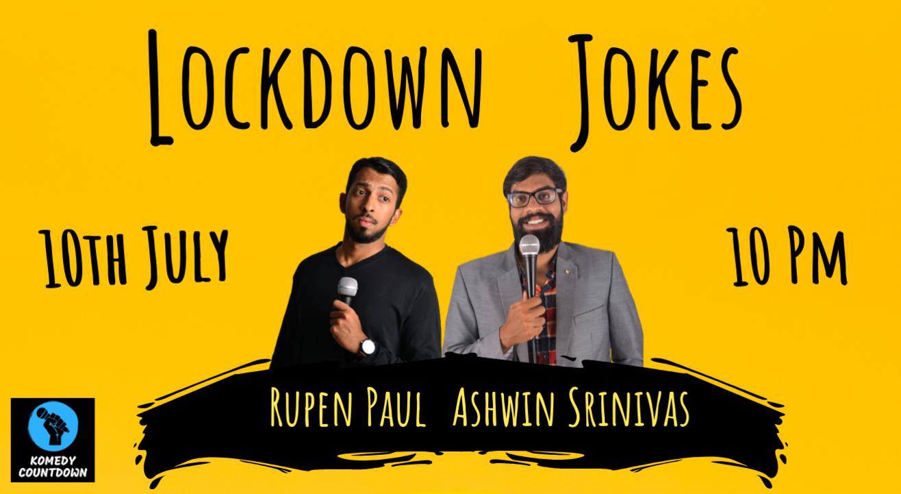 Lockdown Jokes! - An online comedy show
