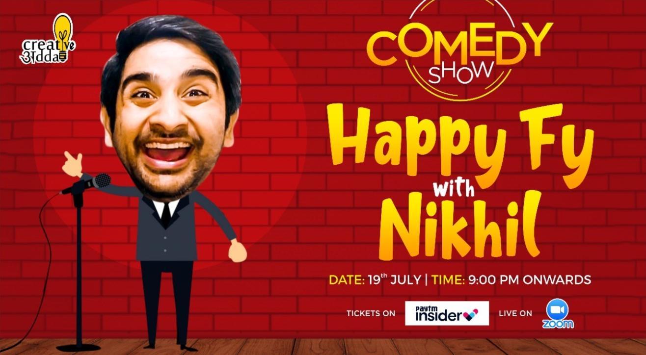 Happy Fy with Nikhil