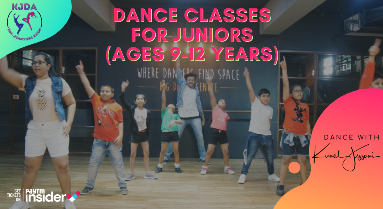 Virtual Dance Class for Juniors (9-12 years) with Kunal Jessani