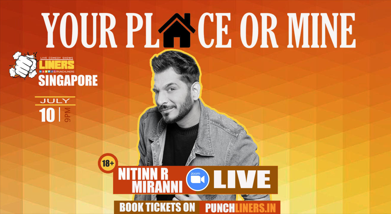 Punchliners Comedy Show ft. Nitinn Miranni Singapore