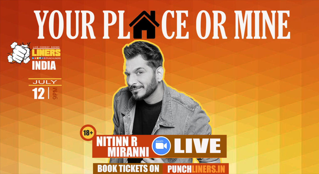 Punchliners comedy show ft. Nitinn Miranni India