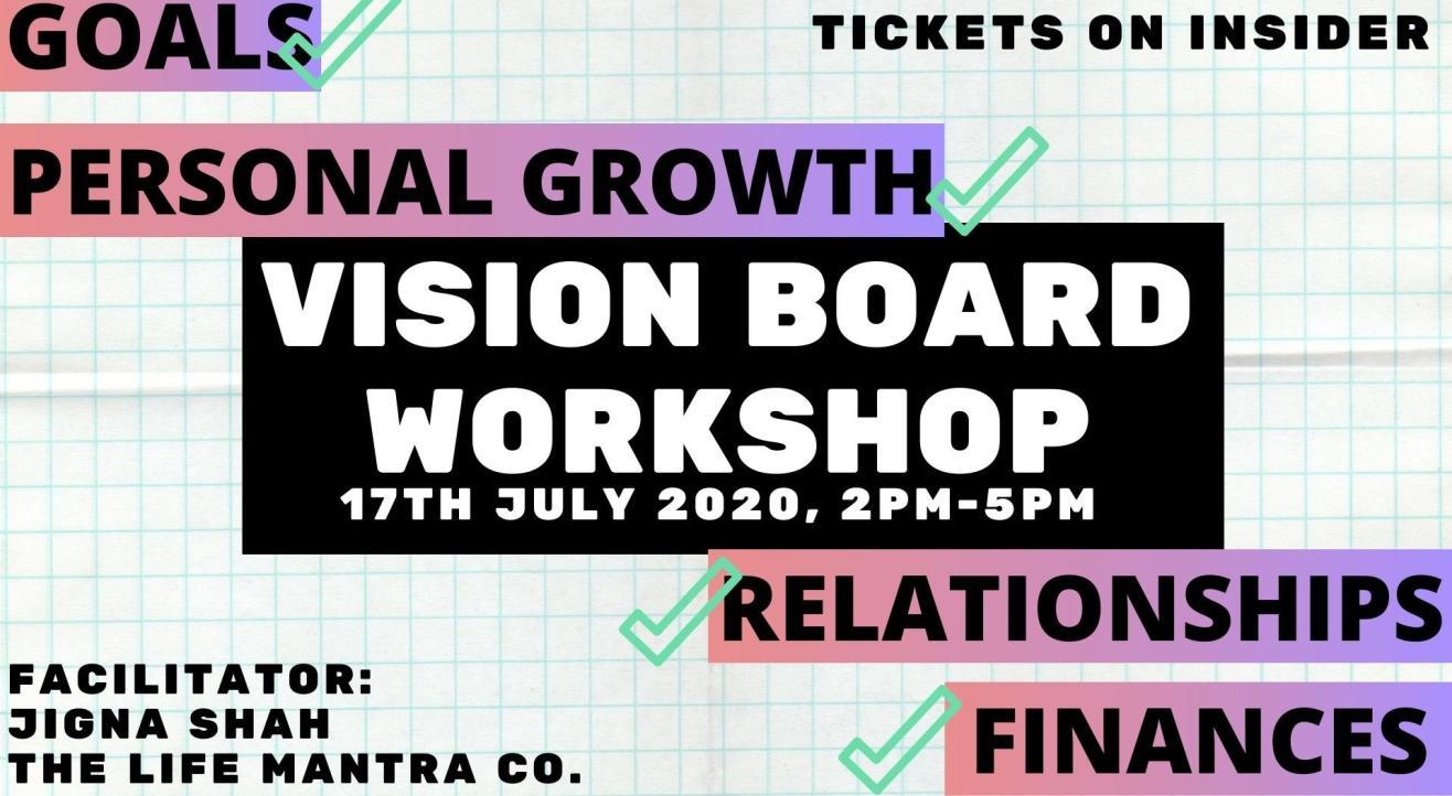 Vision Board Workshop: Lockdown Edition