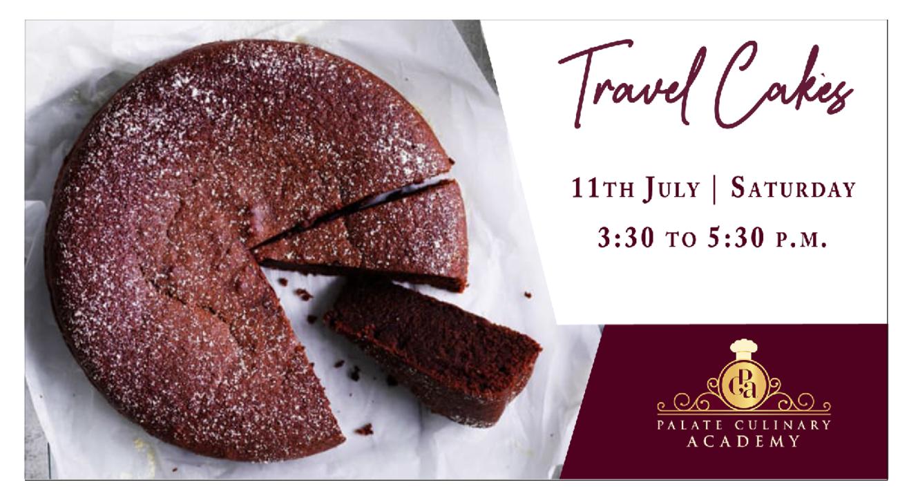 Eggless Travel Cakes with Rakhee Vaswani